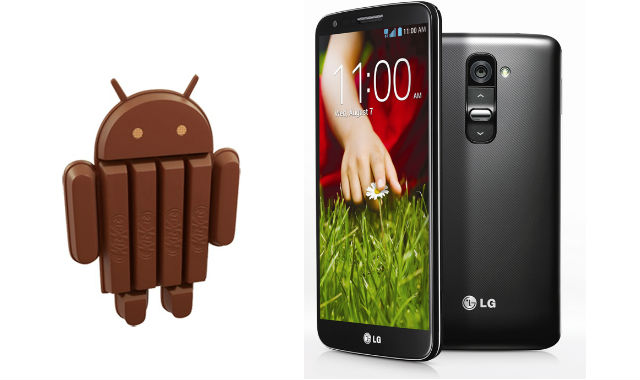 LG begins rolling out KitKat update to the G2