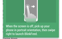 Swipe Right to Blinkfeed