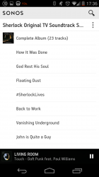 Album View / Track Listing