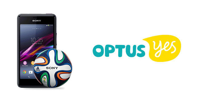 Optus adds the Sony Xperia E1 to their pre-paid lineup with World Cup Ball exclusive in tow