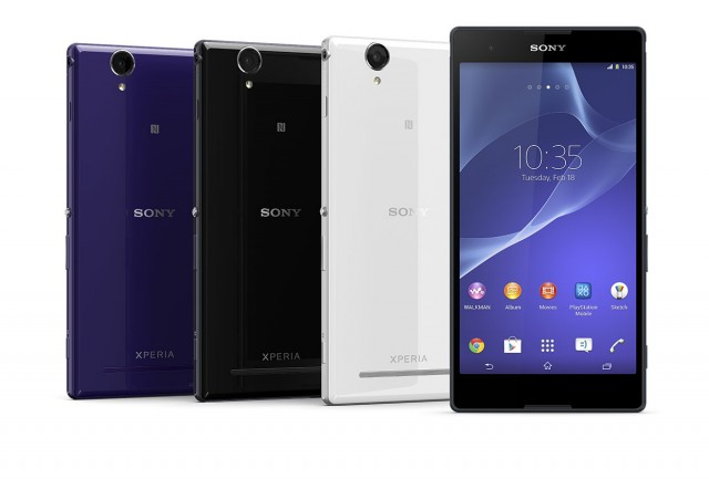 Sony launches the Xperia T2 Ultra dual – Available in Australia this week