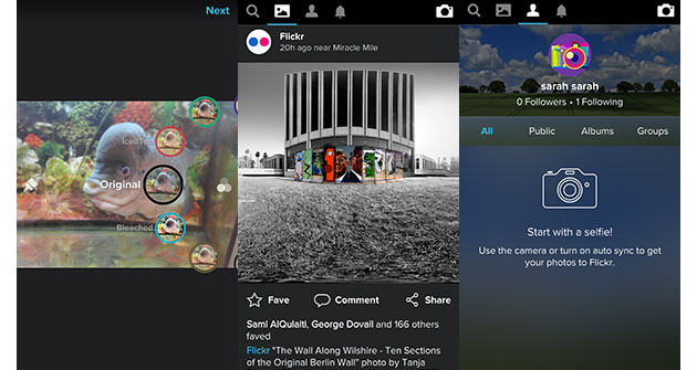 Flickr wants to become your new Instagram app