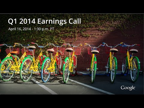Google by the numbers – Q1 2014 earnings report