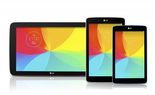 Three new G Pad tablets are on the way from LG