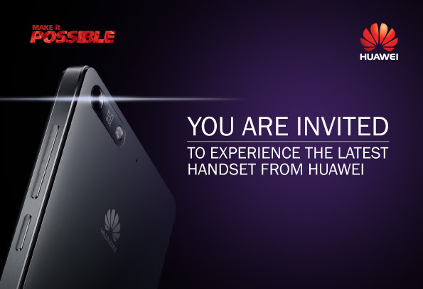 Huawei set to launch the Ascend P7 in Australia next week?