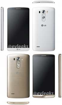 LG G3 Multi-Angle White and Gold