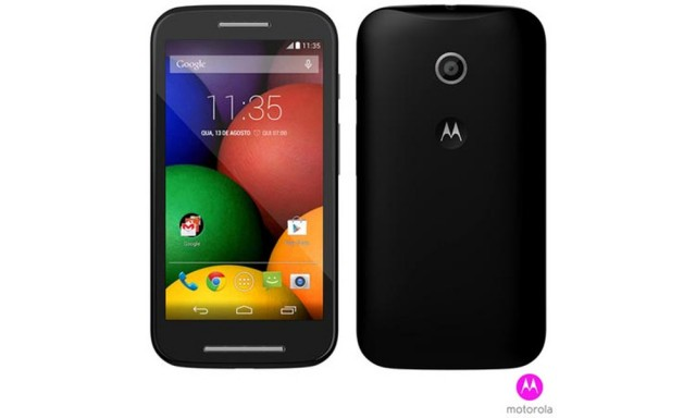Moto E confirmed by Brazilian phone retailer; specs and photos inside.
