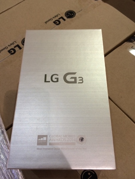 LG G3 Arriving In Stores For Imminent Release