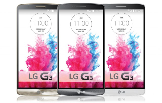 LG G3 shown off on LG Netherlands homepage