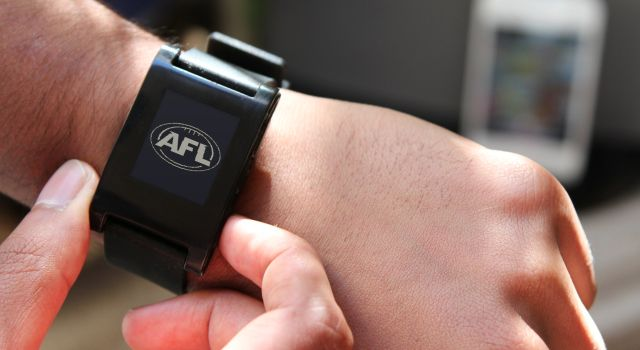 Telstra puts the AFL on your wrist with AFL Live for Pebble