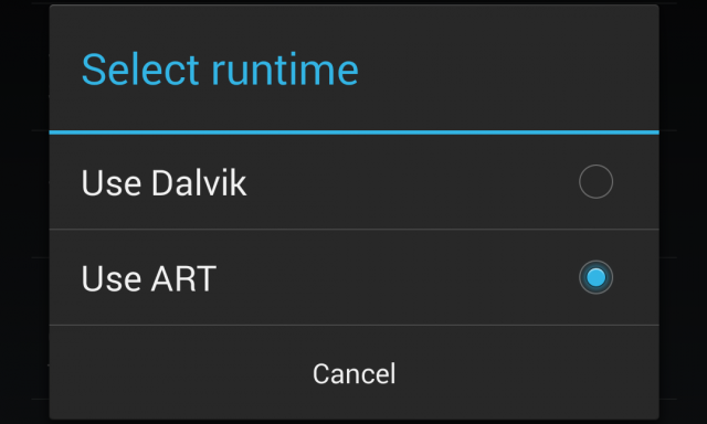Dalvik to be removed from next major version of Android, replaced with ART