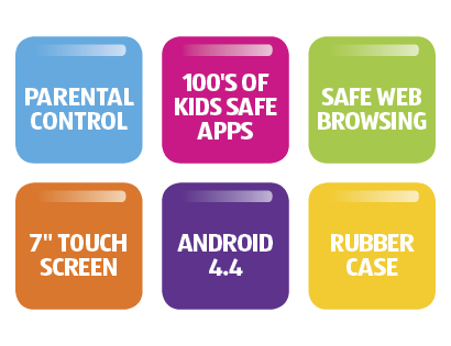 Aldi Kids Tablet features