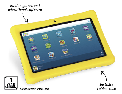 Aldi releasing a sub-$100 7″Android 4.4 'Kids' tablet this Wednesday