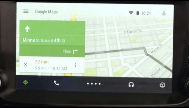 Android Auto - navigation