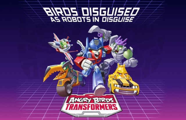Rovio announces Angry Birds Transformers
