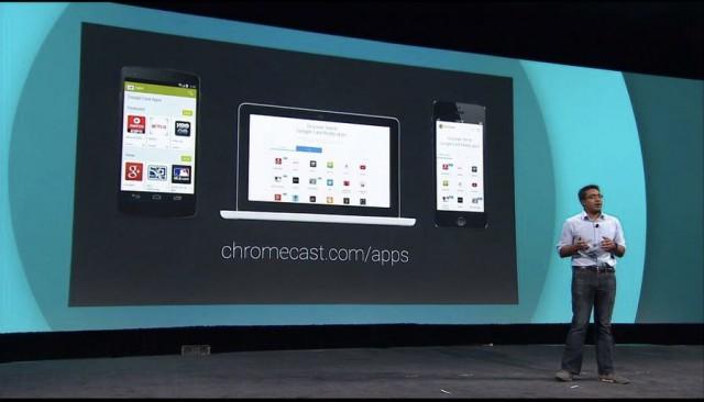 Chromecast dot com slash apps
