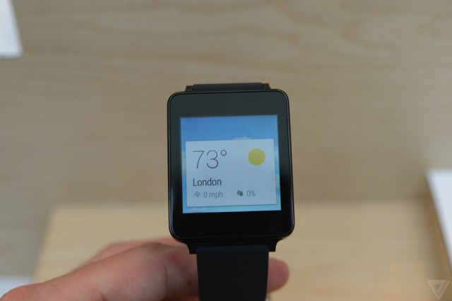 A closer look: LG G Watch