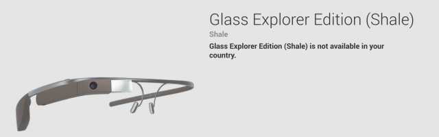 Glass - not available in your country