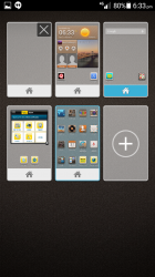 Homescreen Management