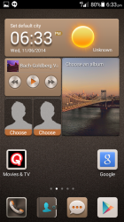 The Me Widget is still there