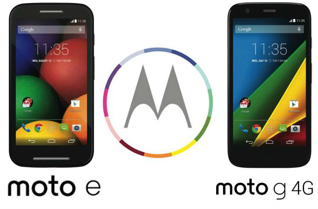 Motorola officially announce the Moto G with 4G LTE and the Moto E coming early July