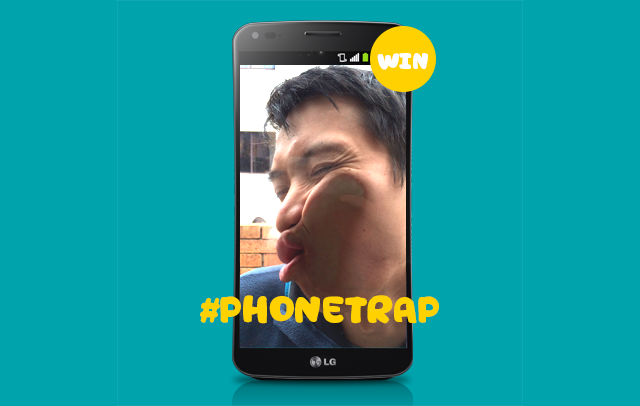 Win an LG G Flex in Optus' #PhoneTrap competition