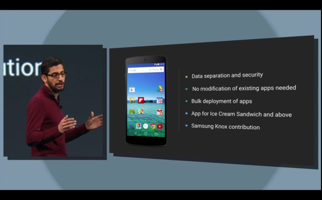 Google Introduces Android For Work