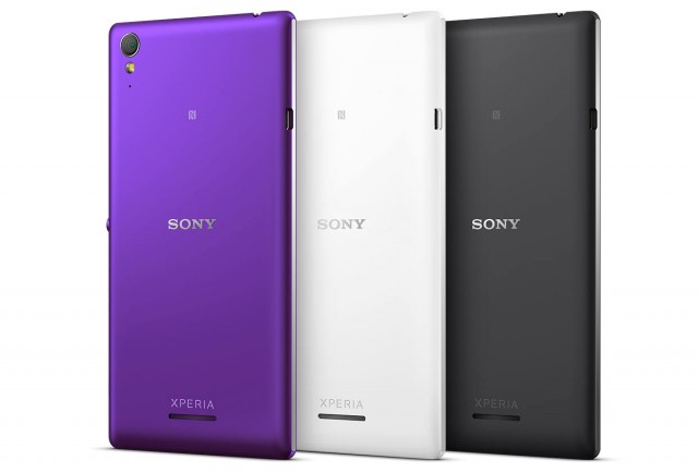 Sony announces the Xperia T3 – stylish and slim