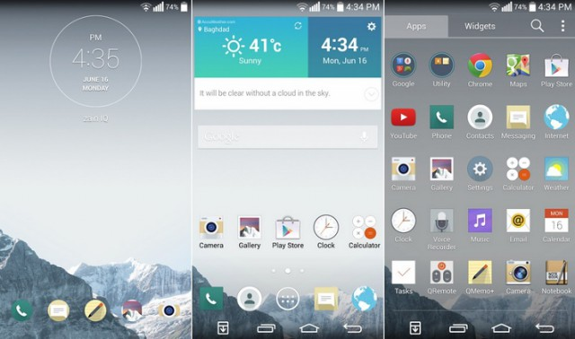 Optimus G3 ROM brings flat UI and 4K recording to the LG G2