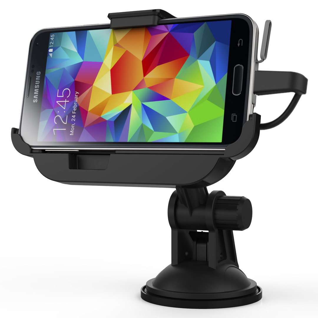 Samsung  Galaxy S5 Car Mount Kit Kidigi Dock Cradle Holder Charger