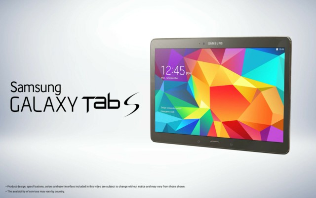 Galaxy Tab S images and specs surface before launch