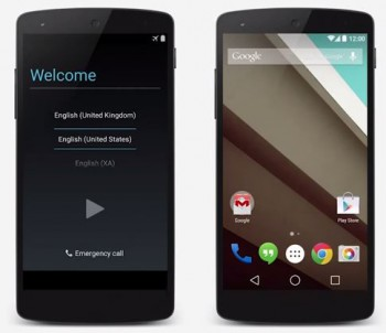 Google Talks Android L Preview – followup reveals that new images probably won't be coming