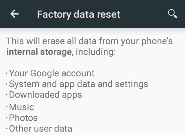 Factory reset phones found to still contain personal data
