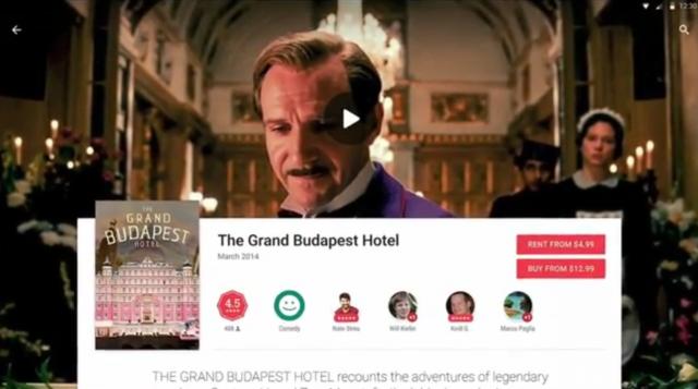 Grand Budapest Hotel - MD Google Play