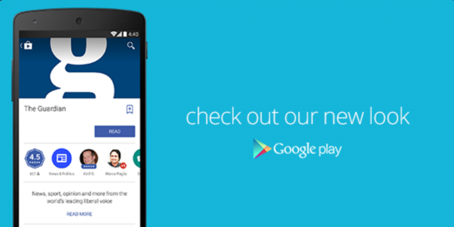 Google Play Newsstand gets Material Design based update
