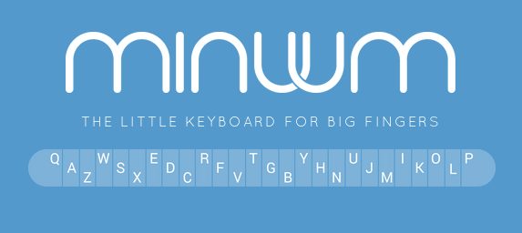 Minuum shows off their keyboard on the LG G Watch – typing on a watch, may not be stupid