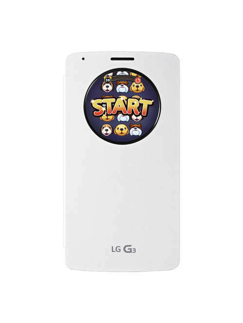 LG announces a game designed for use with the G3 QuickCircle case