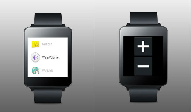 Control your phone's volume from your Android Wear watch