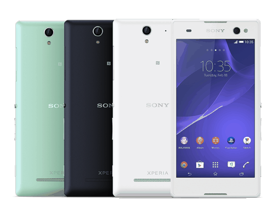 Sony announces the Xperia C3 'Selfie' phone