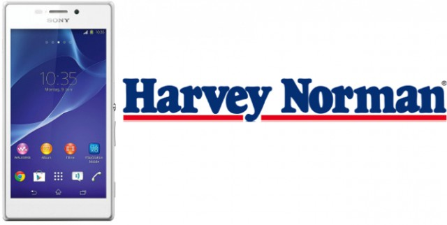 Harvey Norman now offering the Sony Xperia M2 for $363