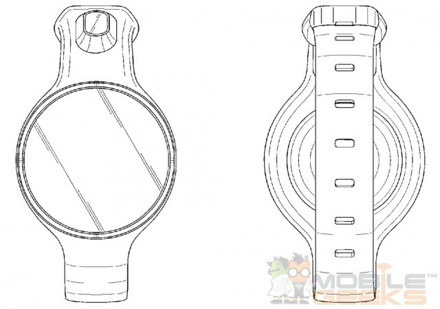Samsung is working on round faced smartwatches too