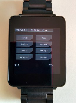 TWRP Recoveries Available For LG G Watch and Samsung Gear Live
