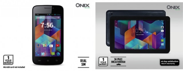 Aldi offering fathers day tech specials with Onix Smartphone & Onix 3G Tablet
