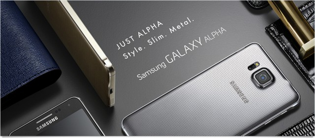 Samsung announce the Galaxy Alpha will be heading to Australia