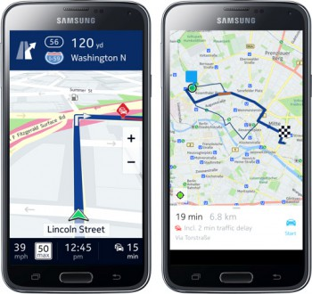 Nokia HERE Maps comes to Android – exclusive to Samsung devices