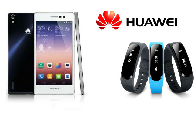 Huawei announce the Ascend P7 and Talkband for Australia