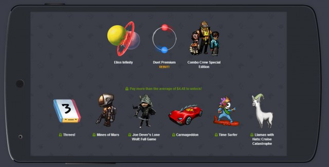 Humble Bundle Mobile 6 updates with three new games.