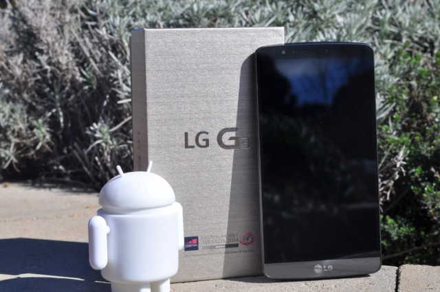 Leaked screens show LG is hard at work porting Android 5.0 to the G3