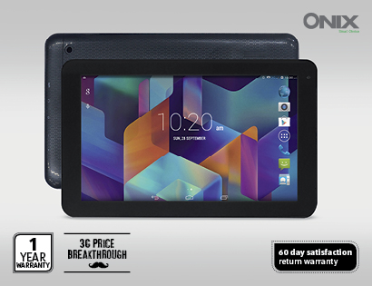 Aldi bringing back the 3G enabled Onix tablet Wednesday the 24th September