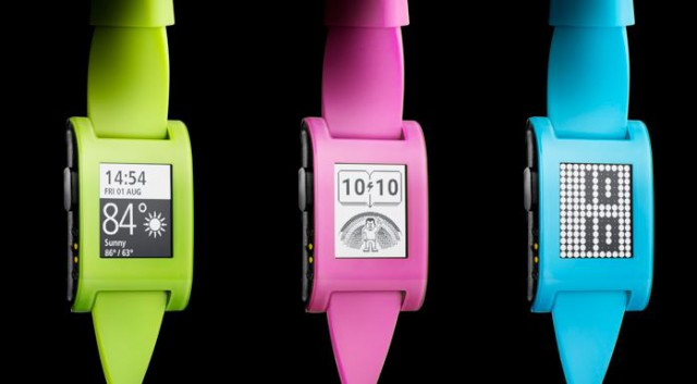 Pebble releases three new colour choices for their smartwatch